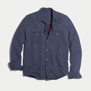 Marine Layer Annecy Button Down in Light Chambray